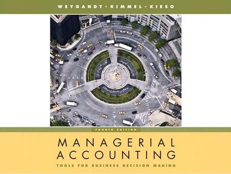 Chapter 3-1. Chapter 3-2 CHAPTER 3 PROCESS COSTING PROCESS COSTING Managerial Accounting, Fourth Edition.