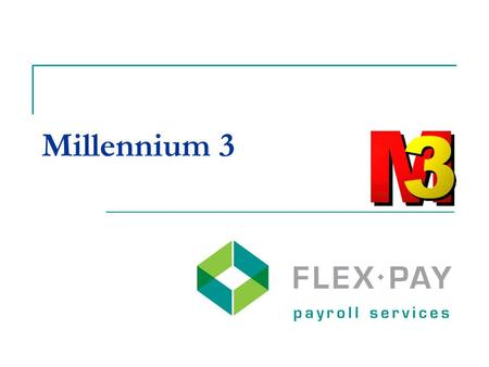 Millennium 3. System Specifications Microsoft Windows 32 bit software Microsoft SQL database.