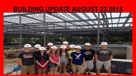 "BUILDING UPDATE AUGUST 23,2014. BUILDING ""A"" NORTHEAST VIEW."