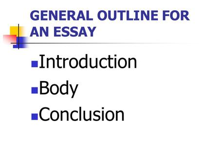 body introduction essay Body of introduction and the an essay paragraphs the conclusion come reaction or response essay education and culture essay in malayalam essay writing cheap uk.