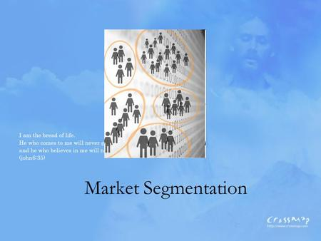 Market Segmentation. What Is? The process of dividing a market into distinct subsets of consumers with common needs or characteristics and selecting one.