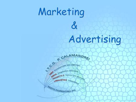 Marketing & Advertising. Contents Marketing definition Branding and Packaging Marketing mix Market research Market segmentation Advertising Advertising.