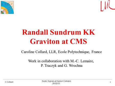 Randall Sundrum KK Graviton at CMS