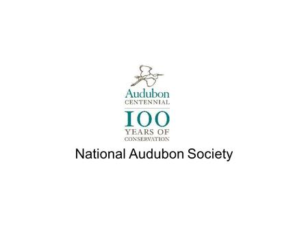 National Audubon Society. Audubon's mission: To conserve and restore natural ecosystems, focusing on birds, other wildlife, and their habitats for the.