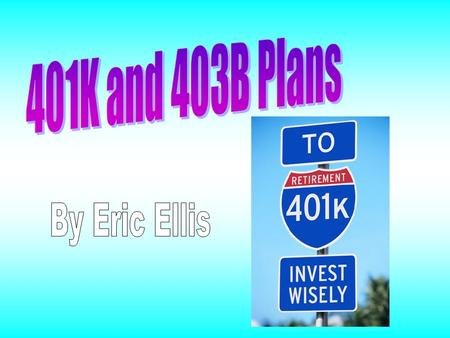 What is a 401K plan? It is a savings account in which employers can help their employee save for retirement while reducing taxable income, and workers.