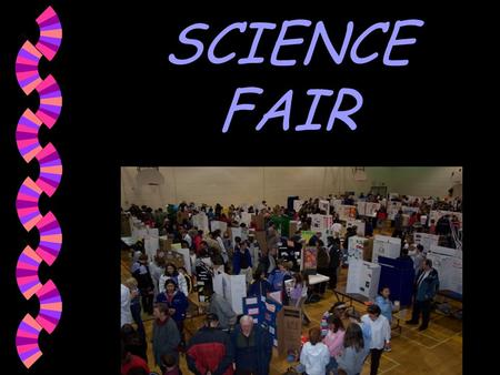 SCIENCE FAIR Scientific Method The Science Fair is all about using the Scientific Method. Follow the steps below to ensure a successful Science Fair.