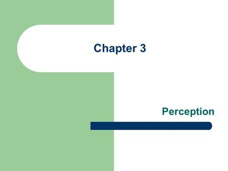 Chapter 3 Perception. Definition of Perception History of the study of perception Steps of Perception Selective Perception Factors affecting Selective.