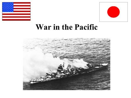 War in the Pacific. After Pearl Harbor: Japan Expands Empire Jan. 1942- seize Guam, Philippines Feb 1942- seize Hong Kong, Singapore March 1942- seize.