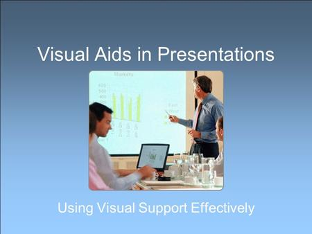 how to use visual aids effectively