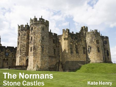 The Normans Stone Castles Kate Henry. The chapel Most castles had a small private chapel near to the lord's chamber. The walls were often painted and.