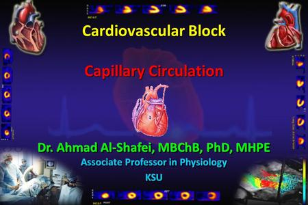 Cardiovascular Block Capillary Circulation. Describe the structure of capillary wall: endothelial cells, basement membrane, intercellular clefts, vesicles,