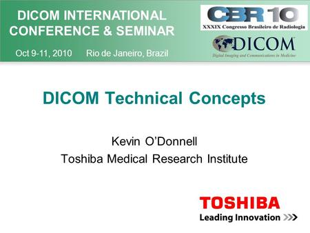 DICOM Technical Concepts