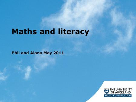 Maths and literacy Phil and Alana May 2011. Hypothesis: It is useful for students in mathematics to know about Text features and purposes of texts Vocabulary.