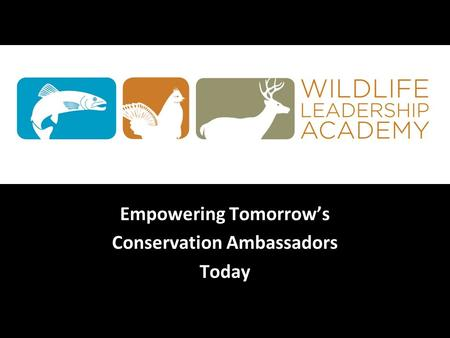 Empowering Tomorrow's Conservation Ambassadors Today.
