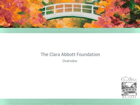 The Clara Abbott Foundation