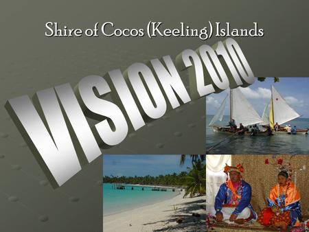 Shire of Cocos (Keeling) Islands. Home Island Precinct Locality Plan Governance/Logistics Business Park Cultural/Heritage Sports & Recreation Emergency.