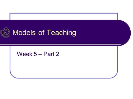 bergold week 5 teacher evaluation presentation Download presentation teacher education assessment' phd week 5 let's look at evaluation: teacher-made tests evaluation: a judgment.