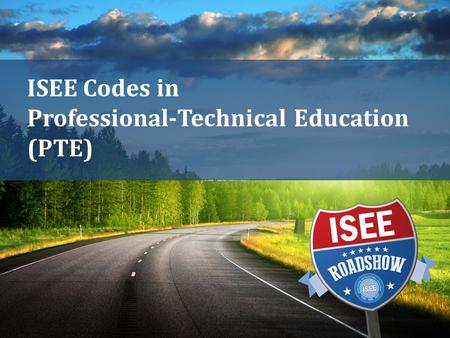 ISEE Codes in Professional-Technical Education (PTE)