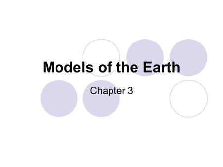 Models of the Earth Chapter 3. Ch03\80017.html.