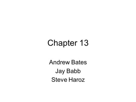 Chapter 13 Andrew Bates Jay Babb Steve Haroz. Introduction We want as much information on the screen as possible without too much eye- head movement Window.