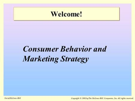 What is Consumer Behavior?