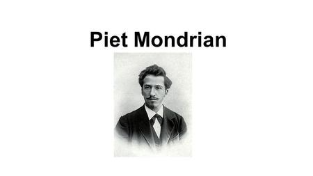 Piet Mondrian. Background & Art Focus He was an important contributor to the De Stijl art movement and group, which was founded by Theo van Doesburg.