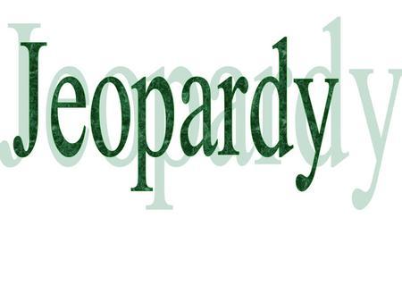jeopardy sounds