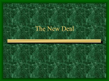 The New Deal. FDR Elected Franklin Delano Roosevelt Elected president 1932 Began to reassure the people in radio broadcasts Roosevelt rallied a frightened.