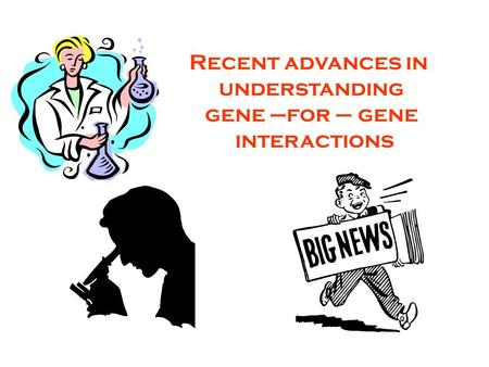 Recent advances in understanding gene –for – gene interactions.