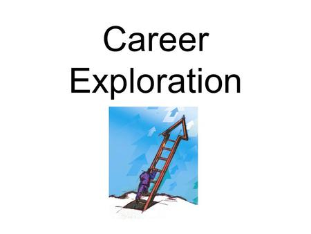 Career Exploration. Introduction How many times have you been asked, What do you want to be when you grow up? What has been your response? If you're like.
