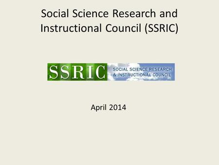 Social science research council