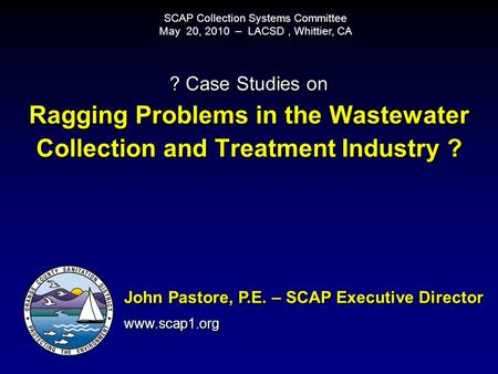 SCAP Collection Systems Committee