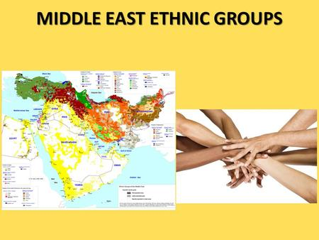 MIDDLE EAST ETHNIC GROUPS. Religious Groups A religious group shares the same religion, a belief system, in a god or godswith a specific set of rituals.