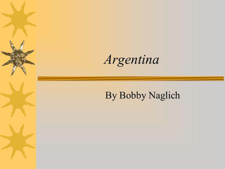 Argentina By Bobby Naglich. Argentinean Flag Map of Argentina.