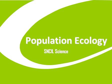 Population Ecology SNC1L Science. 11/18/20152 Populations Change A Population is all of the members of a single species living in an area. The various.