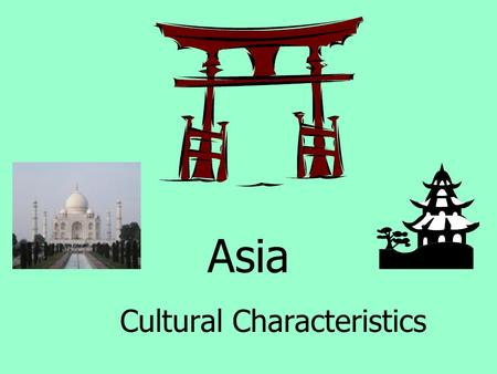 Asia Cultural Characteristics. Indonesia is an archipelago of thousands of islands. It is made up of various ethnic groups with different cultures, languages,