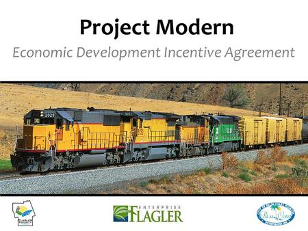 Economic Development Incentive Agreement Project Modern.