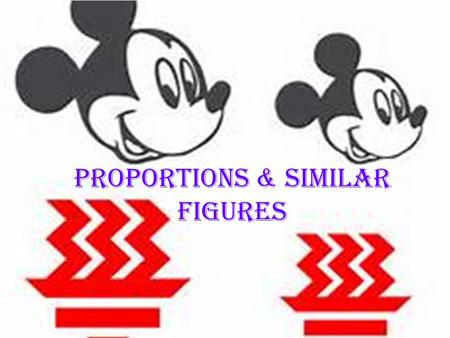 Proportions & Similar Figures. Proportions A proportion is an equation that shows two equivalent ratios. NS 1.3.