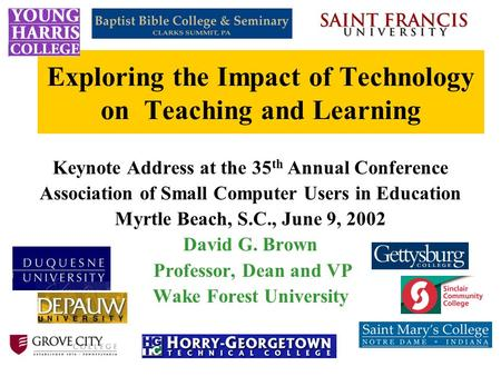 the effects of computers on education The benefits of computers in the classroom by kelly  the public education system no longer considers the integration of technology as a debatable issue in.