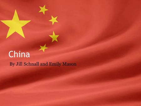 China By Jill Schnall and Emily Mason. Important Concepts Mass Line – line of communication between party leaders, members, and peasants ▫Involves everyone.
