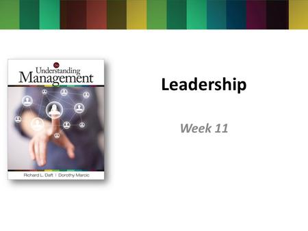 Leadership Week 11.