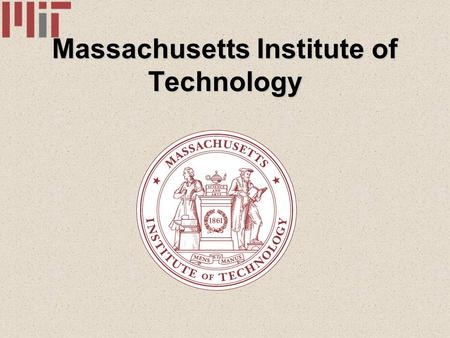 Massachusetts Institute of Technology. Index A) The M.I.T - History - Geographical situation - Type of institute B) Research Activities and Partnerships.