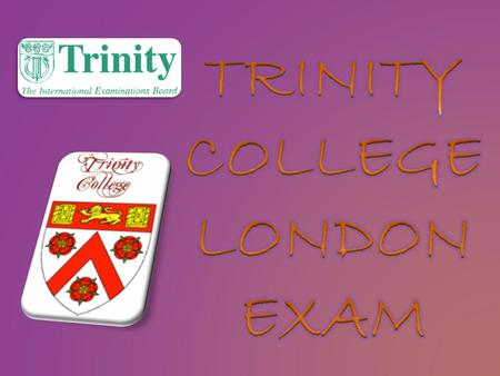 Trinity College London provides respected international qualifications across a range of disciplines in the performing and creative arts, and in English.