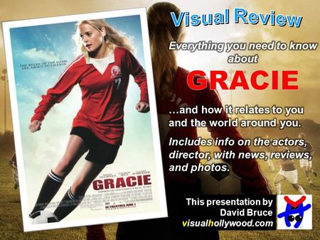This presentation by David Bruce visualhollywood.com.
