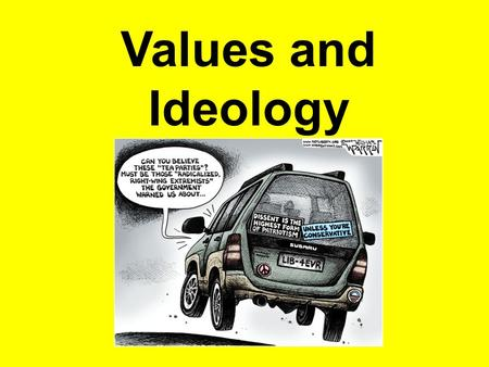 Values and Ideology. Chapter 1 – Thinking About Identity and Ideologies2 Human Nature and Ideology Continuum GOOD Society is perfectible because people.