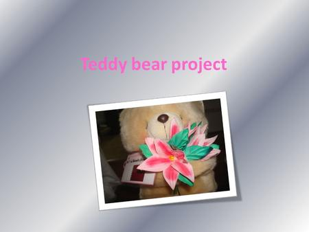 Teddy bear project. Post office 30-3-2009 Dear \ Tilen Today is 30 th of March 2009, we went to the post office to send the teddy bears to Slovenia, It.