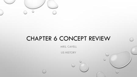 CHAPTER 6 CONCEPT REVIEW MRS. CAVELL US HISTORY. BUSINESS STRATEGIES THAT ALLOWED FOR MONOPOLIES 1. VERTICAL INTEGRATION: BUYING OUT SUPPLIERS (CARNEGIE.