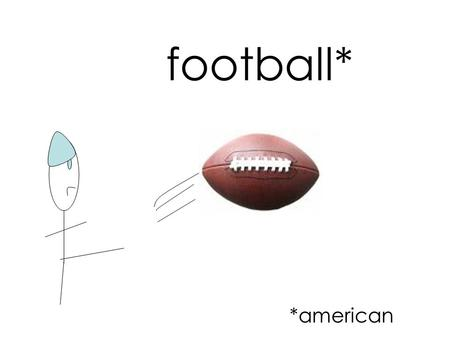 Football* *american. defense offense The Quarterback passes the ball.