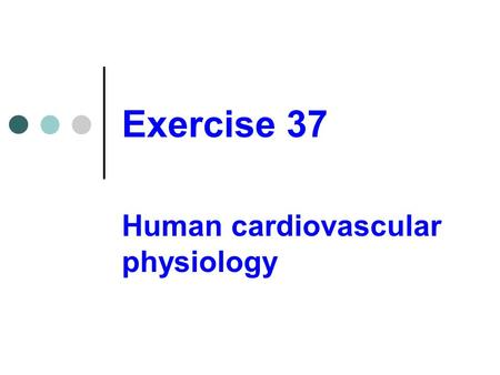 Exercise Science M.S.