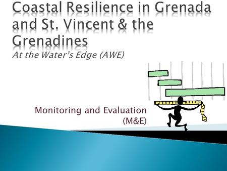 Monitoring and Evaluation (M&E).  Grenadine Bank pilot EBA and resilience solutions in SIDS  simple evaluation methodology for pilot sites incorporating: